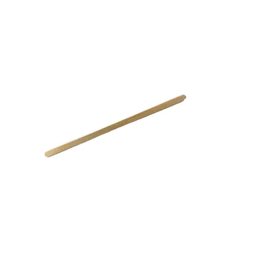 Small wood wax applicator used to apply wax to the body and remove hair.