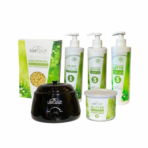 Hair removal wax bundle to remove eyebrow hair and body hair