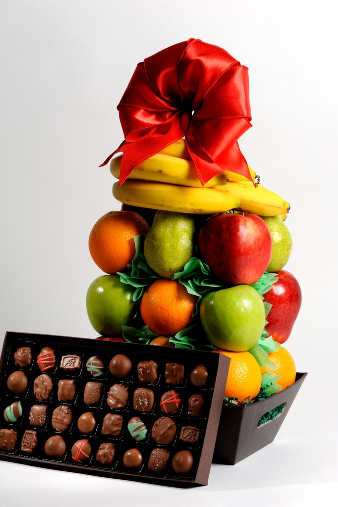 Fruit and Chocolate Basket