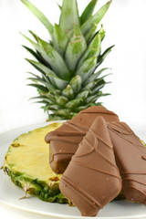 Fresh Dipped Pineapple