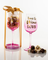 Time to wine down pink