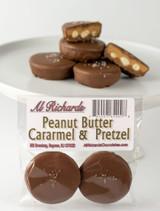 Caramel, Peanut Butter & Pretzels Cups