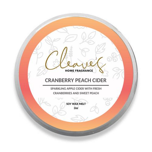Cranberry Peach Cider