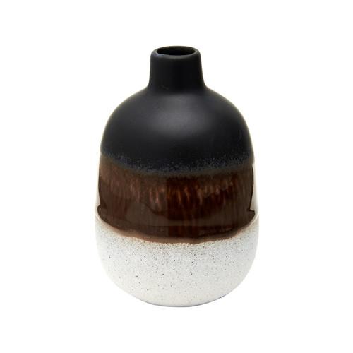 Mojave Glaze Black Vase