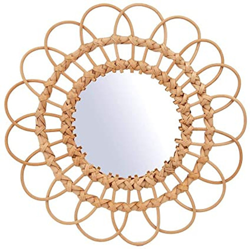 Rattan Mirror Medium