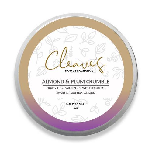 Almond & Plum Crumble