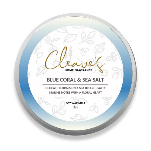 Blue Coral & Sea Salt