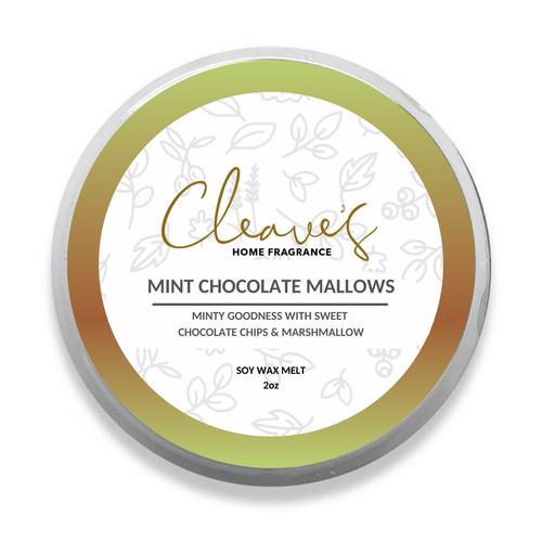 Mint Chocolate Mallows