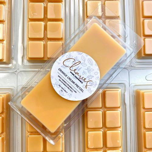 Orange Cream Pretzel Snap Bar