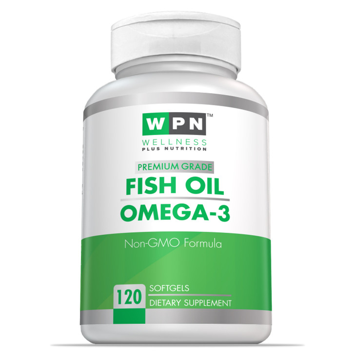 Fish Oil Omega-3 EPA/DHA | 120 Softgels