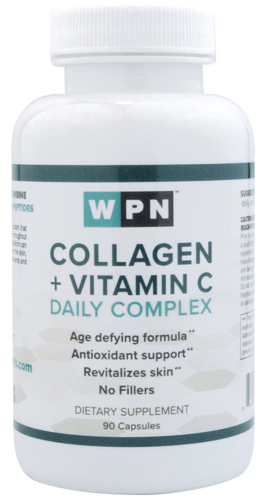 Collagen + Vitamin C Daily Complex (90 Capsules)