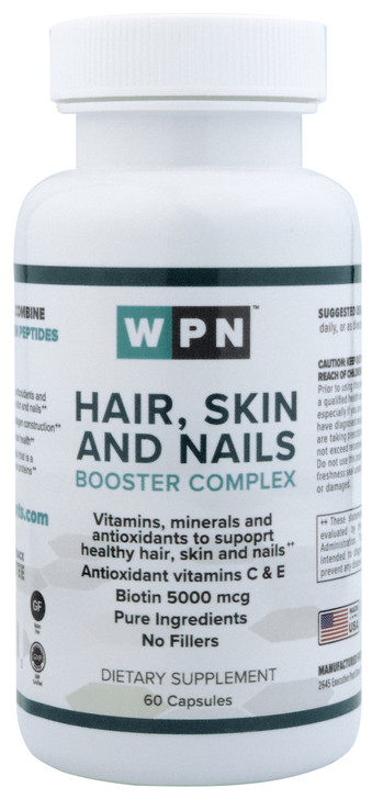 Hair, Skin and Nails Booster Complex | 60 Capsules