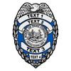 Custom West Virginia Badge Decal