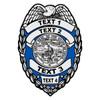 Custom Iowa Badge Decal