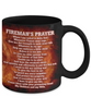 Fireman's Prayer 11 oz. Black Coffee Mug