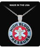 High Blood Pressure Medical Charm Necklace