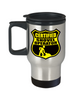 Certified Shovel Operator Stainless Steel Travel Mug