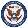 Round Emergency Communications - RACES Decal