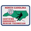 North Carolina Certified Emergency Rescue Technician Decal