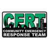 CERT - Community Emergency Response Team Decal