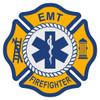 EMT Firefighter Maltese Cross Decal