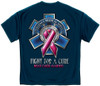 EMS Fight For A Cure Breast Cancer Awareness T-Shirt (FF2113)