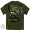 Volunteer Firefighter American Classic T-Shirt (FF2147)