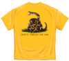 Don't Tread On Me Yellow T-Shirt