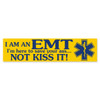 EMT Save Your Ass Not Kiss It Bumper Sticker