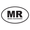 MR (Model Railroader) Oval Decal