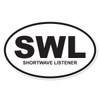 SWL (Shortwave Listener) Decal