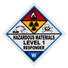 Hazardous Materials Level 1 Responder Decal