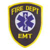 Fire Dept. EMT Patch