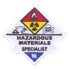 Hazardous Materials Specialist Patch