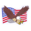 American Flag with Eagle Patch