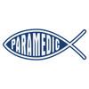 Paramedic Christian Fish Decal