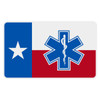 Texas Flag with Star of Life Reflective Decal