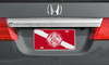 Dive Flag with Maltese Cross Auto License Plate