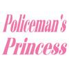 Policeman's Princess Text Decal
