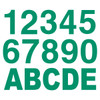 Green Reflective Letters & Numbers