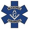 Masonic Paramedic Star of Life Decal