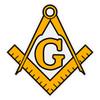 Masonic Compass Decal