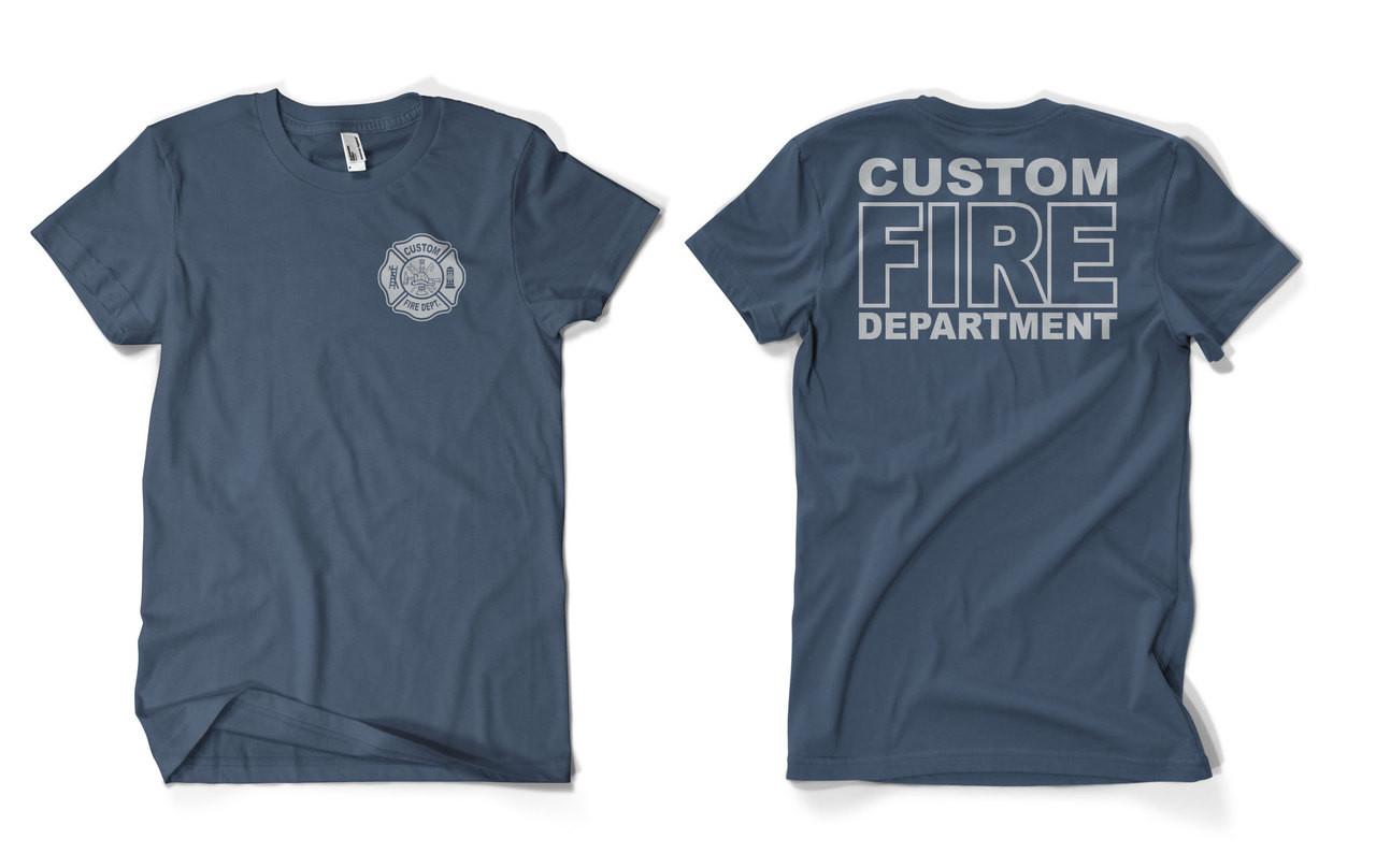 6a976090 Custom Fire Department Duty Shirt