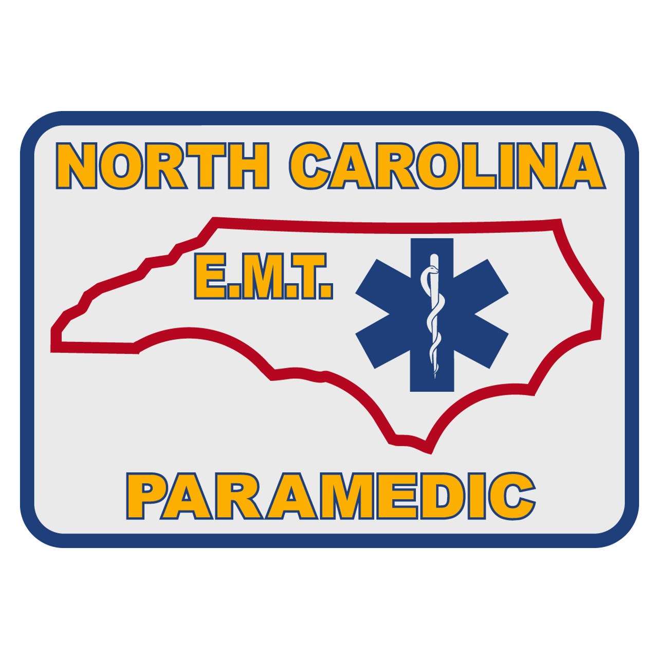old version North Carolina EMT PARAMEDIC Patch