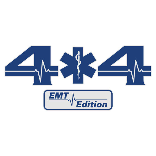 4x4 EMT Edition Truck Decal