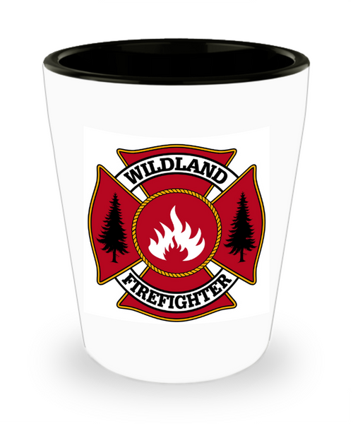 Wildland Firefighter Shot Glass