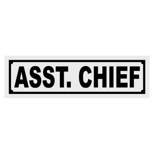 Asst Chief Title Decal