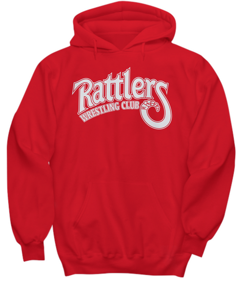 Rattlers Wrestling Club Red Hoodie