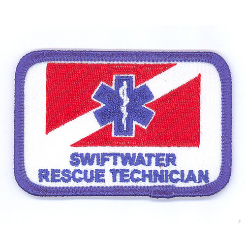 Large Swiftwater Rescue Technician Patch