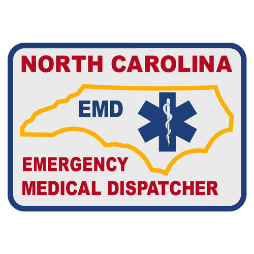 North Carolina Emergency Medical Dispatcher Decal